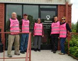 Abortion clinic Volunteer Escorts - Allentown Women's Center in PA